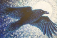 Full Moon Raven